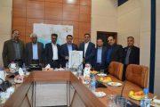 نشست مشترک استاندار هرمزگان با رئیس اتاق تعاون ایران