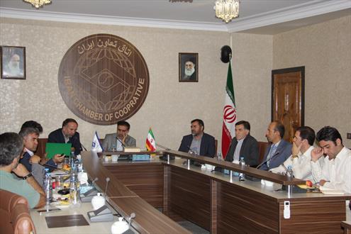 دیدار هیات مدیره اتحادیه گل و گیاه با رئیس اتاق تعاون ایران