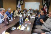 جلسه تعالی بخش تعاون با حضور نمایندگان مجلس درا تاق تعاون فارس