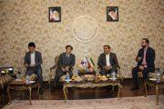 دیدار سفیر کره جنوبی با رئیس اتاق تعاون ایران