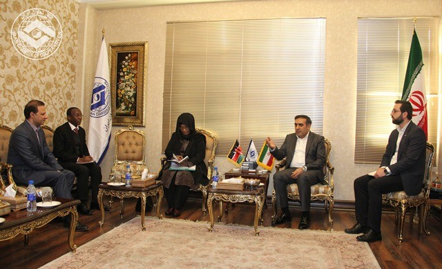 توسعه تعاملات تجاری بخش تعاون ایران و کنیا بررسی شد
