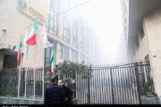 علت آتش سوزی ساختمان برق حرارتی هنوز مشخص نیست