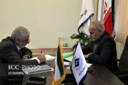 نشست مشترک دبیر مرکز داوری اتاق تعاون با معاون قوه قضائیه