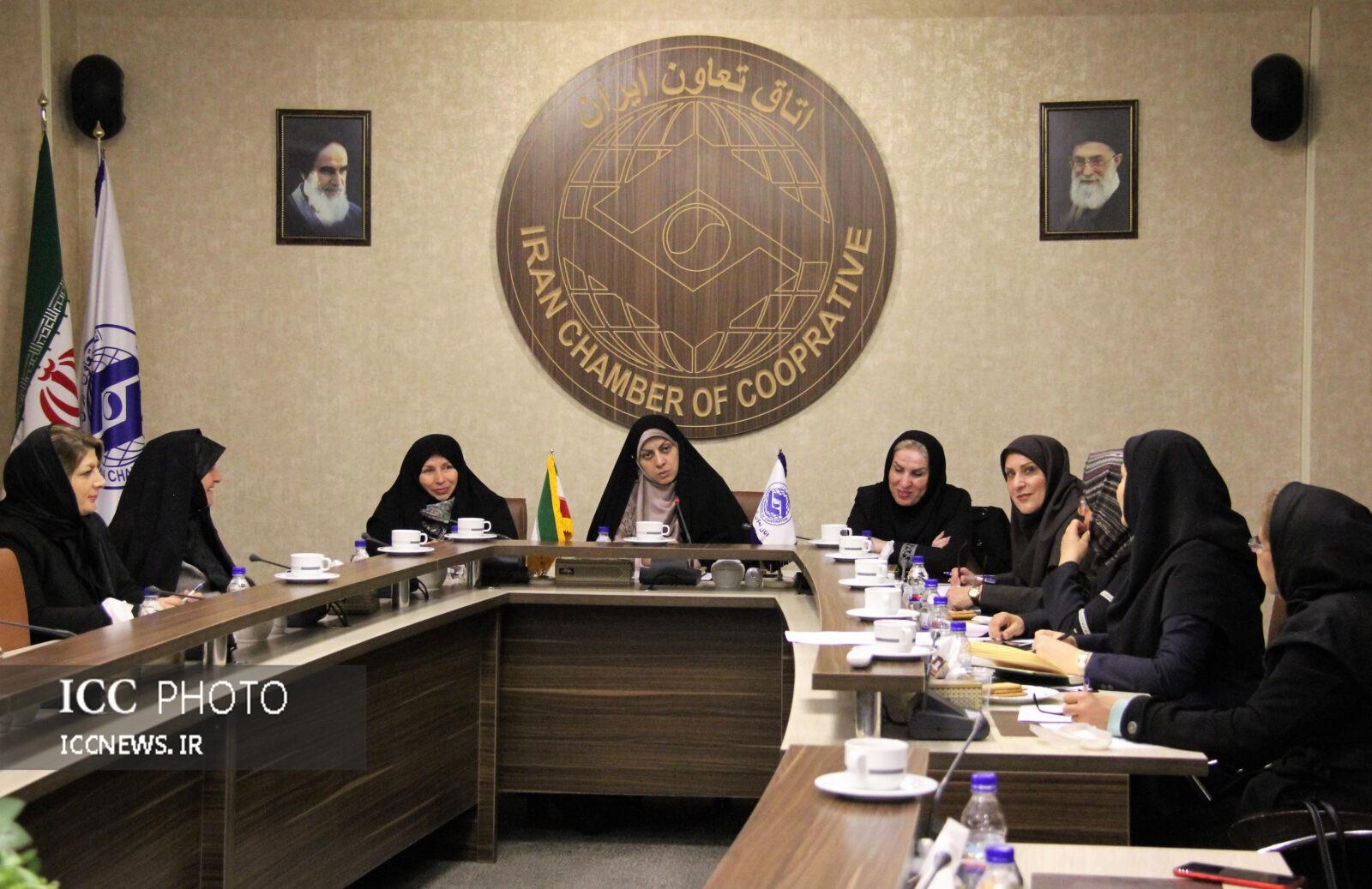 سی و چهارمین کمیسیون بانوان اتاق تعاون 4مصوبه داشت