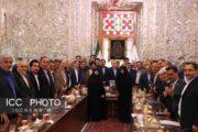 گزارش تصویری نشست مشترک بخش تعاون با رئیس مجلس شورای اسلامی
