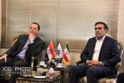 دیدار سفیر کرواسی با رئیس اتاق تعاون ایران