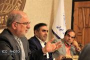 گزارش تصویری نشست معاون اقتصادی وزیر امور خارجه با رئیس اتاق تعاون ایران