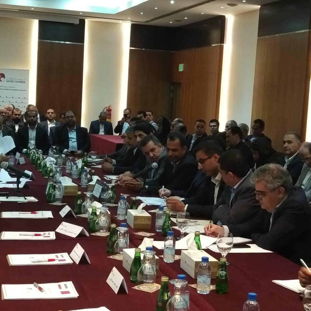 ششمین کمیسیون مشترک اقتصادی ایران و قطر برگزار شد/ حضور پررنگ بخش تعاون