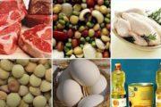 قیمت اقلام خوراکی طی یک سال گذشته چقدر تغییر کرده اند؟
