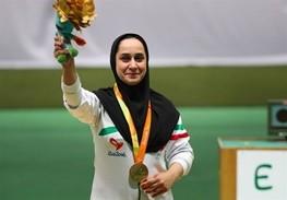 ساره جوانمردی نامزد عنوان بهترین ورزشکار ماه مِی ۲۰۱۸