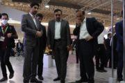 گزارش تصویری  بازدید مسئولان ارشد اتاق تعاون ایران از نمایشگاه صنعت ساختمان
