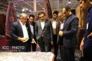 گزارش تصویری بازدید رئیس اتاق تعاون از نمایشگاه فرش دستباف