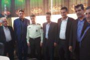 دیدار هیات رئیسه اتاق تعاون هرمزگان با فرماندهی انتظامی استان