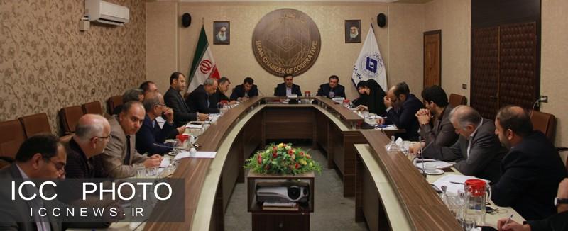 دیدار روسای کمیسیون ها با رئیس اتاق تعاون ایران
