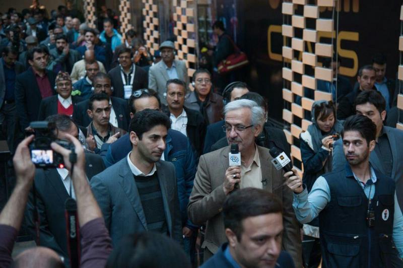 میهمانان خارجی ICA از پروژه بازار بزرگ ایران بازدید کردند