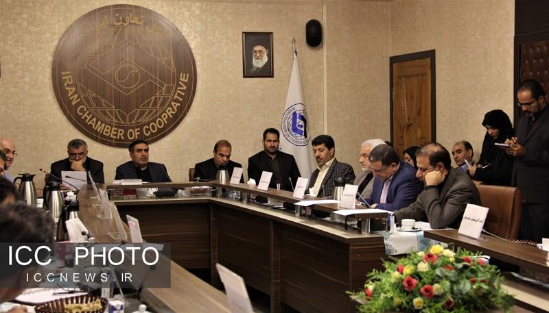 حضور وزیر جهاد کشاورزی در جمع تعاونگران در اتاق تعاون ایران