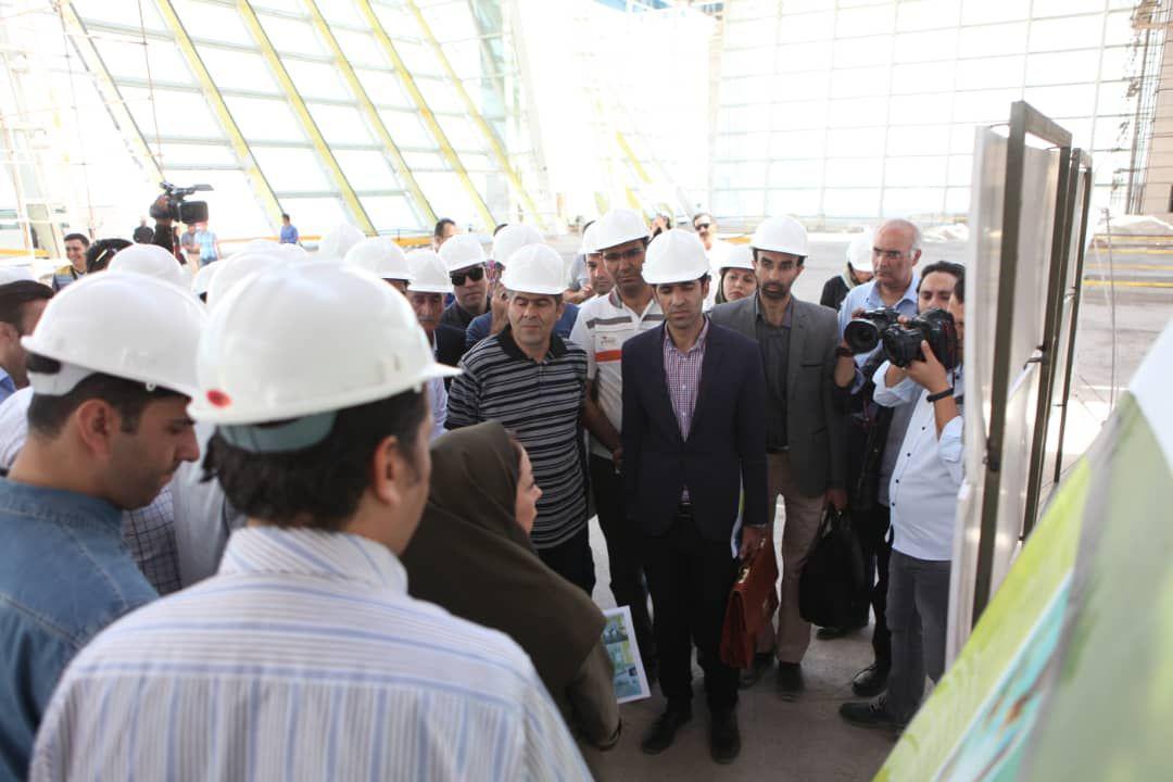 سومین روز از نمایشگاه عمران و ساختمان کیش آغاز به کار کرد