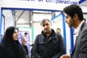 بازدید نماینده تهران در مجلس شورای اسلامی از غرفه اتاق تعاون ایران+ عکس