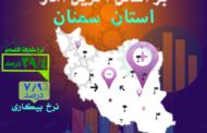 عملکرد اقتصادی استان سمنان زیر ذره بین آمار