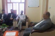 بازدید مسئولان ارشد استانی بخش تعاون از اتاق تعاون آبادان