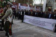 تجدید میثاق کارگران و وزیر تعاون،کار و رفاه اجتماعی با آرمانهای امام راحل در آستانه هفته کارگر