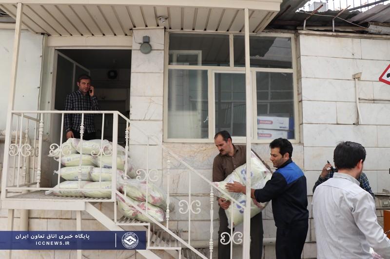 گزارش تصویری جمع آوری کمک های بخش تعاون به آسیب دیدگان سیل