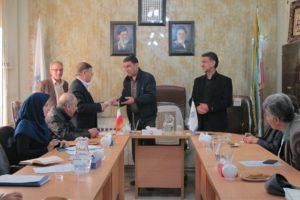 اعطای گواهی فعالیت تعاونی ها در اصفهان