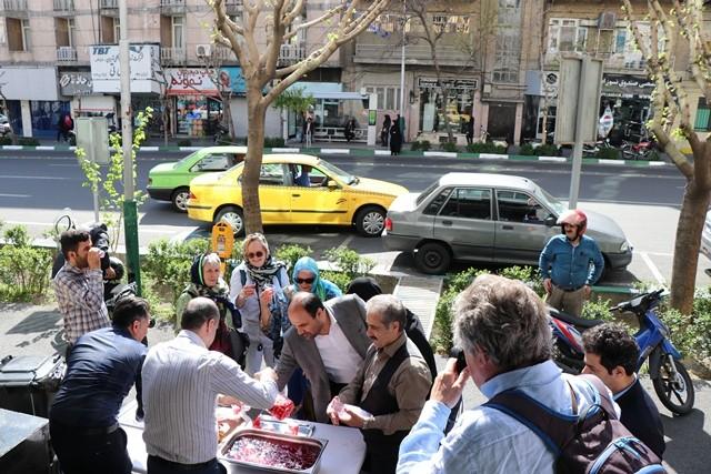 گزارش تصویری مراسم شادباش میلاد مسعود امام حسین (ع)  و روز پاسدار در اتاق تعاون ایران/ من یک سپاهی ام