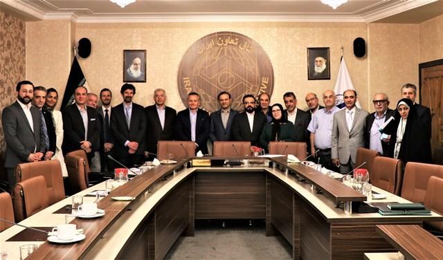 زمینه همکاری های مشترک با مرکز تجارت بین الملل در اتاق تعاون ایران بررسی شد