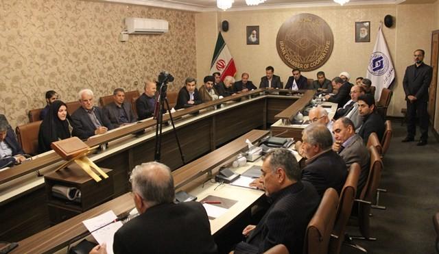 گزارش تصویری نشست مشترک کمیسیون اقتصادی مجلس با مسئولان ارشد اتاق تعاون