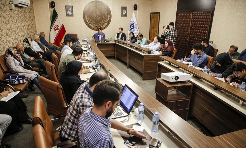 گزارش تصویری نشست خبری نائب رئیس اتاق تعاون ایران با اصحاب رسانه