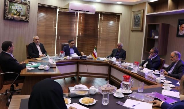 دیدار رئیس اتاق تعاون ایران با هیات رئیسه اتاق تعاون کرمان