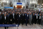مراسم تجدید میثاق تعاونگران با امام راحل(ره)