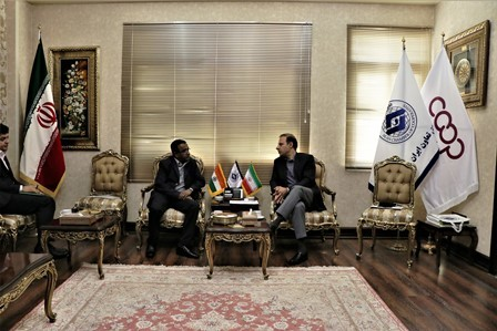 The Ways of developing the economic interaction between Iran and India were discussed at Iran Chamber of Cooperatives