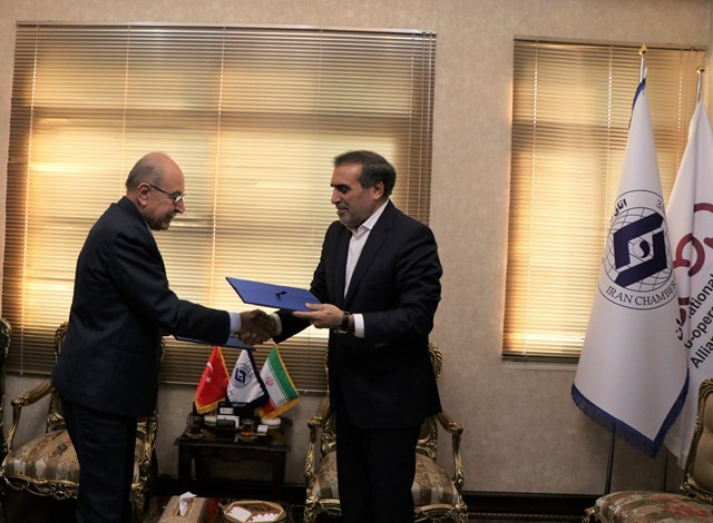 The Memorandum of Understanding on development cooperation was signed between Iran Chamber of Cooperatives and National Cooperative Union of Turkey