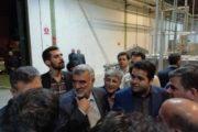 بازدید وزیر جهاد کشاورزی از شرکت تعاونی فرآوردههای میوهای و آبمیوه پیشگامان کویر یزد