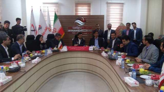 حضور وزیر ارتباطات و فناوری اطلاعات در شرکت تعاونی بندرخشک پیشگامان یزد