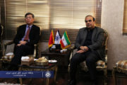 دیدار رایزن بازرگانی سفارت چین با دبیر کل اتاق تعاون ایران