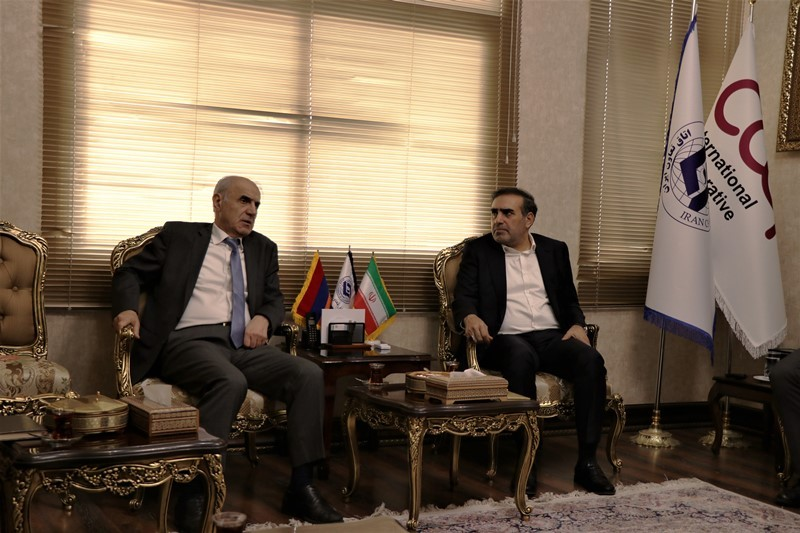 Business opportunities of Iran and Armenia were discussed