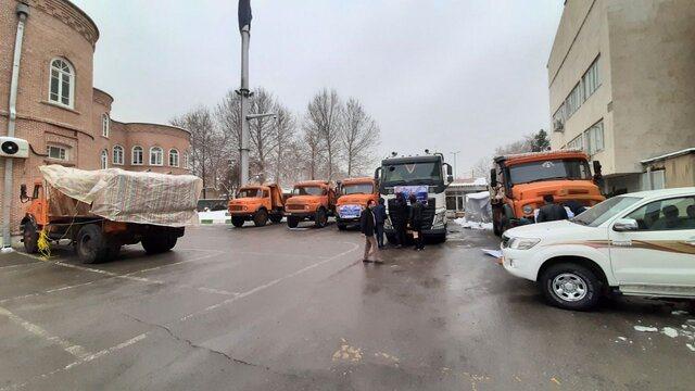 ارسال کمکهای بخش تعاون به مناطق سیل زده سیستان و بلوچستان