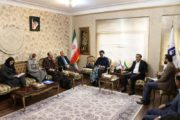 Meeting of The President of Iran Chamber of Cooperatives with the representatives of UN and UNDP