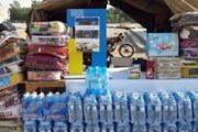 ارسال کمکهای بخش تعاون استانهای فارس و یزد به سیستانوبلوچستان