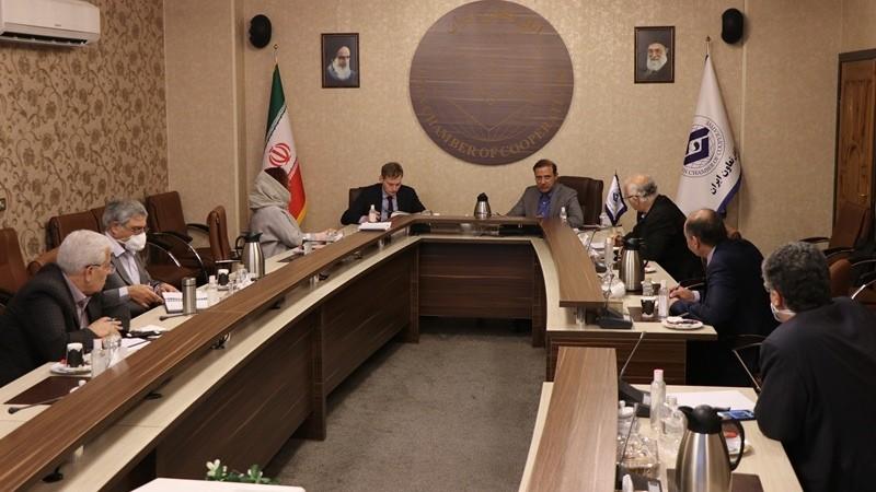 نشست با دبیر اقتصادی سفارت انگلیس در اتاق تعاون