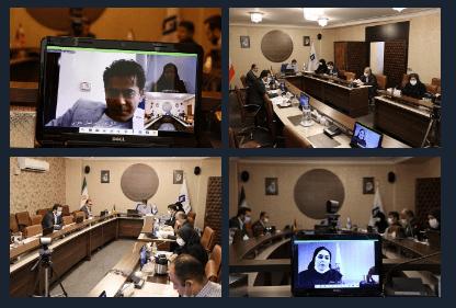گزارش تصویری برگزاری نشست کمیته ارزیابی اتاق تعاون استانها