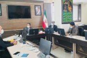 نشست معاون پشتیبانی، تحقیقات و برنامهریزی اتاق تعاون با مسئولین استانی خراسانجنوبی