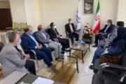 دیدار هیات رئیسه اتاق تعاون سمنان با نماینده مردم سمنان در مجلس