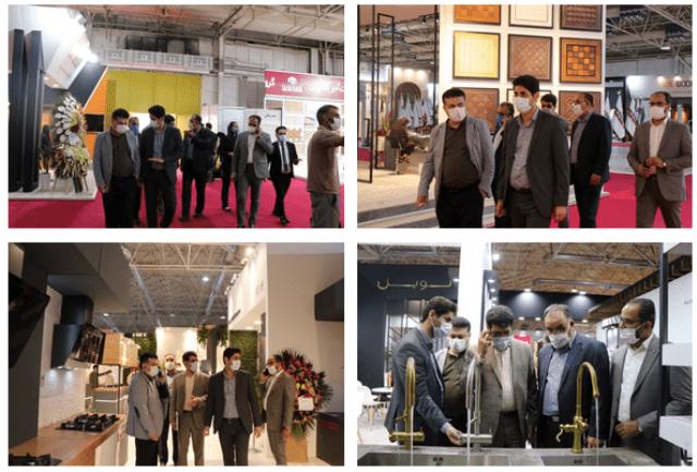 گزارش تصویری بازدید هیات رئیسه اتاق تعاون از بیستمین نمایشگاه بینالمللی صنعت ساختمان و نهمین نمایشگاه بینالمللی آسانسور