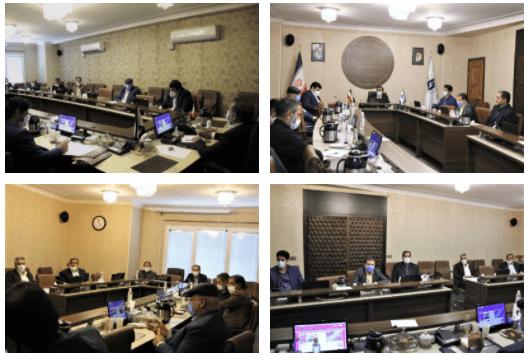 گزارش تصویری جلسه شورای هماهنگی روسای مناطق شش گانه با رئیس اتاق تعاون