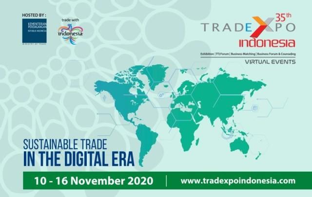 نمایشگاه مجازی ترد اکسپو اندونزی 20 تا 26 آبانماه برگزار می شود