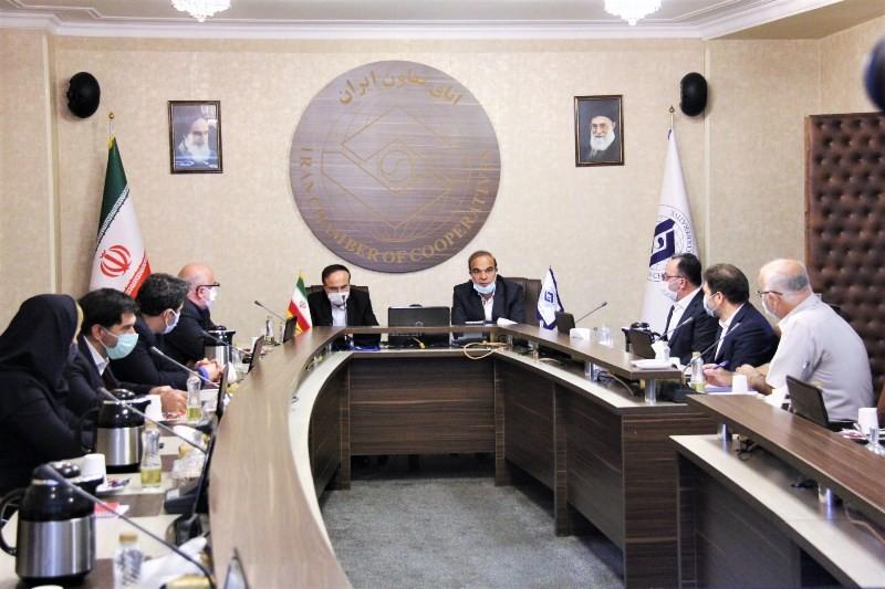 گزارش تصویری نشست مشترک رئیس کل بیمه مرکزی با تعاونگران
